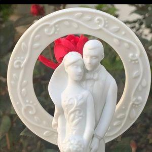 Hallmark Porcelain wedding Cake Topper